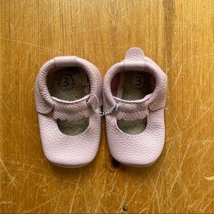 Minimoc Mary Jane leather shoes